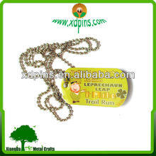 souvenir tag with logo, basketball dog tags, clothes pictures tags