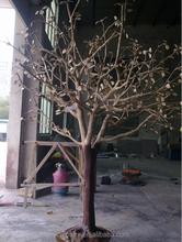 brass life-size tree outdoor garden sculpture for sale