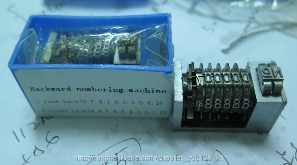 4 x8cicero letterpress Numbering machine