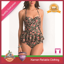 Wholesale top quality sublimation fashion Fancy dress beach wear Sexy swimwear
