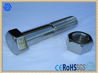 Astm a325 Stainless Steel Hex Bolts,Hex Bolt With Nut,High Quality Stainless Steel Heavy Hex Bolt