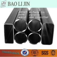 ASTM A500 black steel hollow section, fence tube, fence pipe