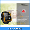"""IP68 waterproof Sport Pedometer smart watch with 1.54"""" touch screen Android watch phone TPU Strap smart watch"""