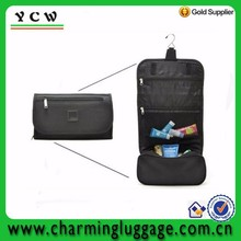 Unisex classic foldable hanging travel men military toiletry bag
