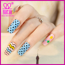 beauty cute dot and stripe nail decal stickers