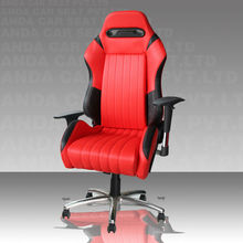Modern Cute Office Chairs/Elegant Office Chair/Red PVC Office Chair SPO
