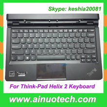 original new laptop keyboard for ThinkPad Helix 2 laptop replacement Keyboard with Cover Base Cover Palmrest touchpad US/UK