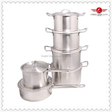 Multi Cooker Supply Professional Stainless Steel Cookware Hot Selling 6pcs
