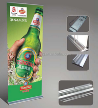 Aluminum banners stand roll up display poster