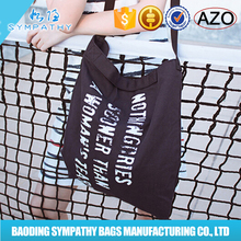 Top sale Eco friendly OEM production customized wholesale recyclable 100% promotional printed tote shopping cotton bag