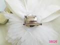 Blanco ramillete de flor utilizada en la boda de excelente calidad