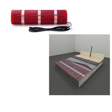 230V 150w/m2 teflon insulated Tile/Wood environment protecting Floor Heating Mat