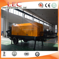 LCP 30SR Hydraulic small diesel trailer-mounted concrete trailer pump