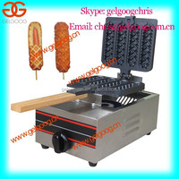 Commercial muffin waffle maker/corn hot dog machine/french hot dog making machines for sale