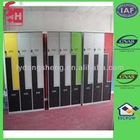 Z / L Shape Colourful Metal Locker Ikea Style