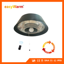 easyWarm Remote Control Outdoor Electric Instant Infrared Patio Heater