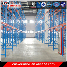 Quick moving and easy installation pallet racks