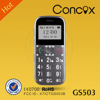 Concox GS503 Big Button Senior Mobile Phone Real Time Tracking/ Low Price China GPS Mobile Phone