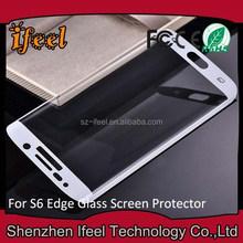 Anti-glare Screen Protector Shield for samsung Galaxy S6 Edge