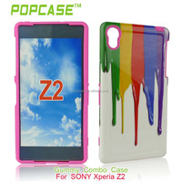 armor case for sony xperia z2 beautiful plastic phone cover