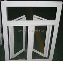 Swing open style and plastic frame material pvc window