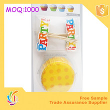 Baby shower cake decoration set /party supplier