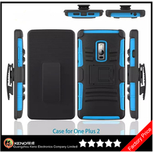 Keno PC+Silicone Back Cover for One Plus 2 Combo Case, PC+Silicone for One Plus 2 Case