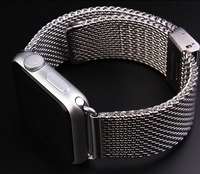 Solid Stainless Steel for Apple watch Strap, Wrist Design for Apple Watch Band with Straight Ends