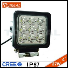 ip68 new 27w car led tuning light led work light