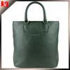 Green sheep skin leather hand bag tote bag for lady purses and handbags handtasche schwarz