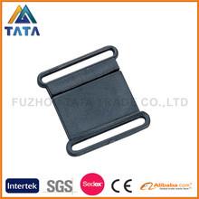 Wholesale Plastic Black Flat Safety Buckle