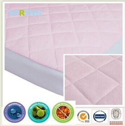 Breathable caters luxury fitted washable waterproof bamboo fabrics baby cribs alibaba china mattress cover