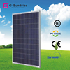 Dependable performance crystalsilicon poly solar panel 250w