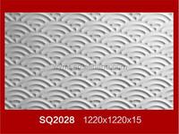 waterproof & decorative design 3d wall gypsum board