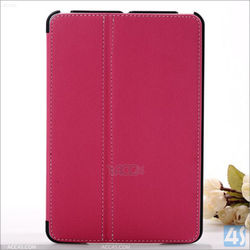 Hot selling on alibaba PU Leather Stand Folio case For Apple iPad Mini 2/3 with stylus pen holder