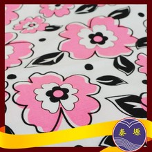 """Good market T/C 80/20 133X94 63"""" digital printing fabric plain dyed bed sheets"""