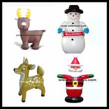 inflables de navidad santa claus renos del muñeco de nieve de aire soplado decoración patio