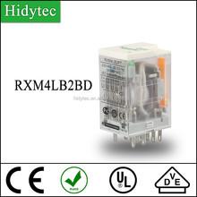 New Miniature intermediate relay RXM4LB2BD