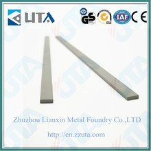 YG8 customized special tool steel tungsten carbide flat bar for tools