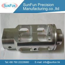 full function slant bed aluminum cnc lathe parts