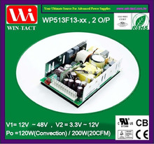 UL CE Approved 12v 5v dual output 200w computer power supply