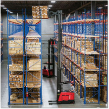 Alibaba Nanjing easy store and pick up warehouse rack system