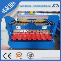 C20 R Profile Wall & Roof Panel Sheet Roll Forming Manufacturing Machine Made in China