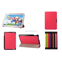 CY Karst Pattern 3-folding Leather Case For Acer Iconia Tab 10 A3-A20