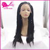 hot sale synthetic hair wig african american synthetic braided lace wig twisted weave braid hiar lace wig