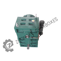 High quality Helical gear boxes for plastic pipe/ rod / tube /sheet extrusion machinery