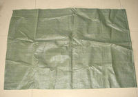 Factory price green polypropylene garbage bag export to russia by made in china