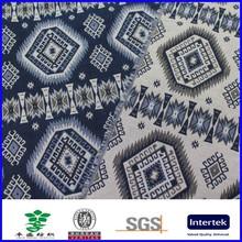 indigo thick 100% cotton denim jacquard fabric for coat home textile