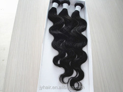 2015 hot selling 3pcs in one pack with a closure brazlian body human hair weaving