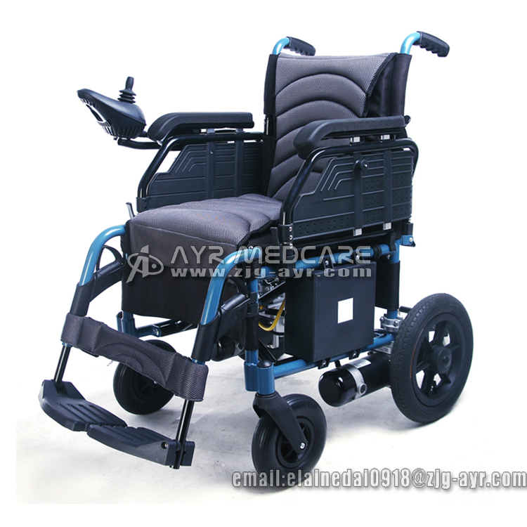 Ayr 2102 Handicapped Folding Electric Wheelchair Power
